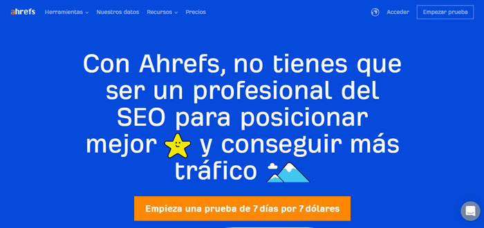 Ahrefs - Screenshot
