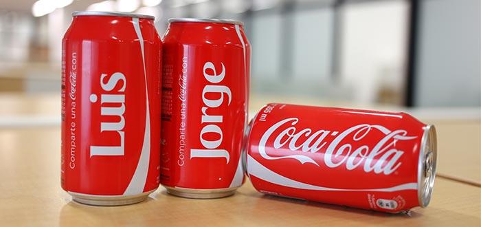 Coca-Cola estrategia latas