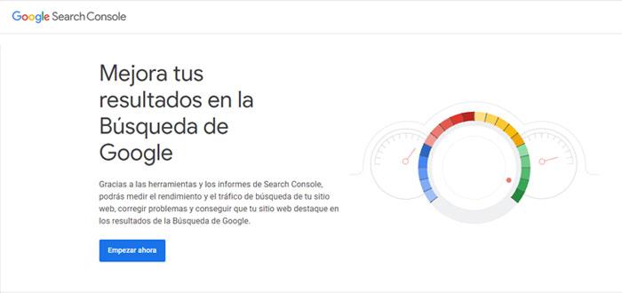 Google Search Console - Herramientas SEO técnico
