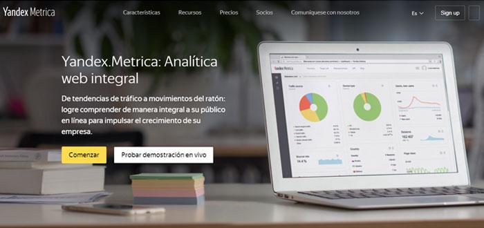 Yandex.Metrica - Screenshot
